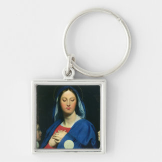 The Virgin of the Host, 1866 Key Chains