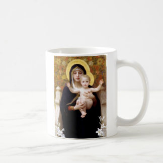 The Virgin of the Lillies Mugs
