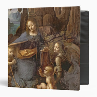The Virgin of the Rocks 3 Ring Binder