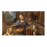The Virgin of the Rocks Business Card