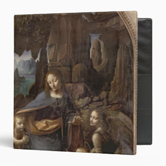 The Virgin of the Rocks , c.1508 3 Ring Binder