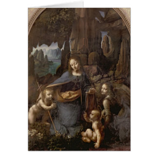 The Virgin of the Rocks , c.1508 Card