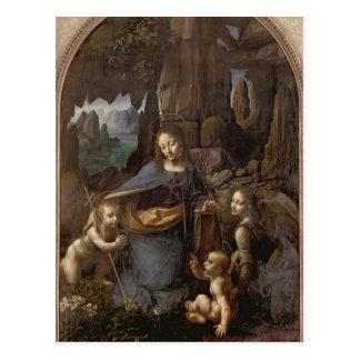 The Virgin of the Rocks , c.1508 Postcard