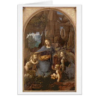 The Virgin of the Rocks Card