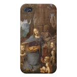 The Virgin of the Rocks Cases For iPhone 4