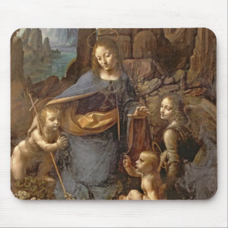 The Virgin of the Rocks Mouse Pads