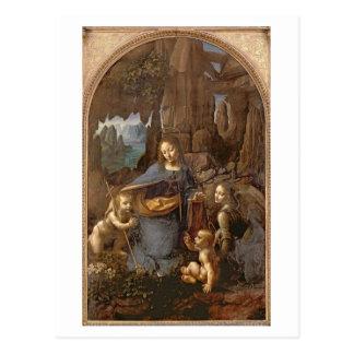 The Virgin of the Rocks Postcard
