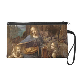 The Virgin of the Rocks Wristlet Purse