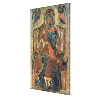The Virgin of the Tolg, Yaroslavl School Gallery Wrapped Canvas