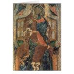 The Virgin of the Tolg, Yaroslavl School Greeting Cards