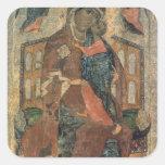The Virgin of the Tolg, Yaroslavl School Square Stickers