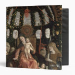 The Virgin of Victory or The Madonna and Child 3 Ring Binder