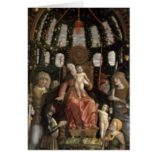 The Virgin of Victory or The Madonna and Child Card