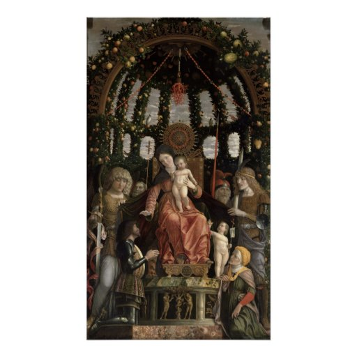 The Virgin of Victory or The Madonna and Child Poster