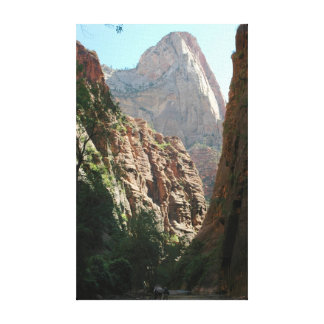 The Virgin River Stretched Canvas Print