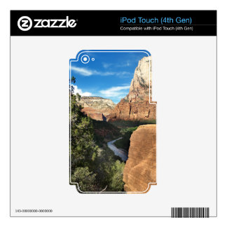 The Virgin River in Zion Canyon iPod Touch 4G Skins