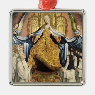 The Virgin Sheltering the Order of Citeaux Metal Ornament