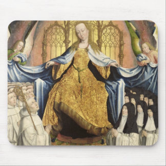 The Virgin Sheltering the Order of Citeaux Mouse Pad