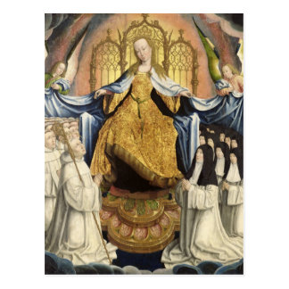 The Virgin Sheltering the Order of Citeaux Postcard