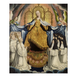 The Virgin Sheltering the Order of Citeaux Print