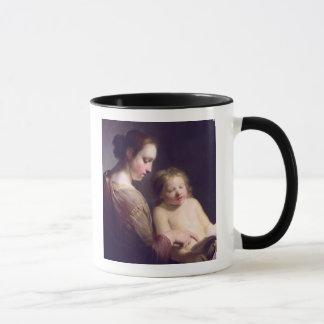 The Virgin Teaching the Infant Christ to Read Mug