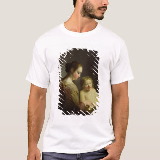 The Virgin Teaching the Infant Christ to Read T-Shirt