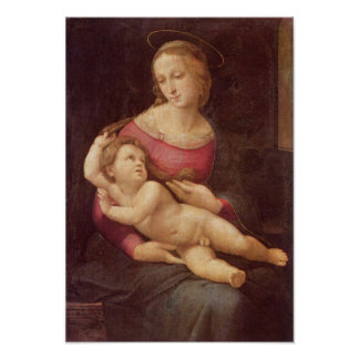 The Virgin (The Bridgewater Madonna) by Raphael Poster