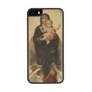 The Virgin with Angels, 1900 2 Wood iPhone SE/5/5s Case