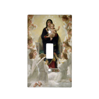 The Virgin with Angels, 1900 Light Switch Covers
