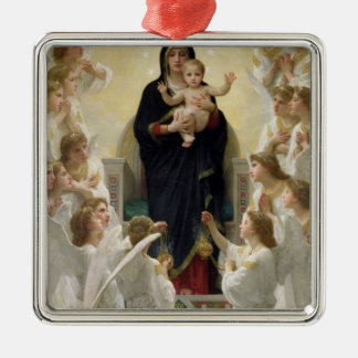 The Virgin with Angels, 1900 Metal Ornament