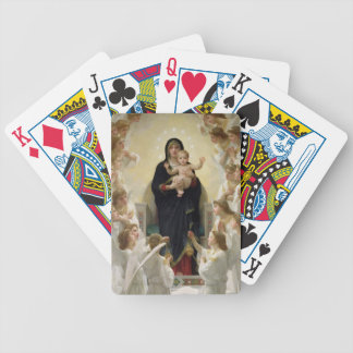 The Virgin with Angels, 1900 (oil on canvas) Bicycle Playing Cards