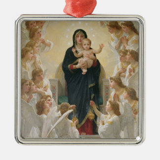 The Virgin with Angels, 1900 Christmas Tree Ornament