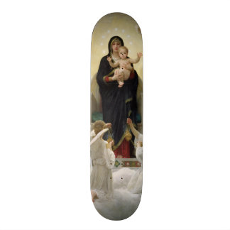 The Virgin with Angels, 1900 Skateboard