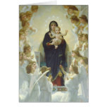 The Virgin With Angels Cards