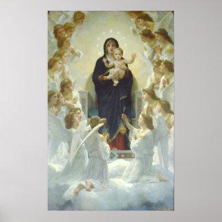 The Virgin With Angels, Regina Angelorum Print