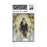 The Virgin With Angels Stamps