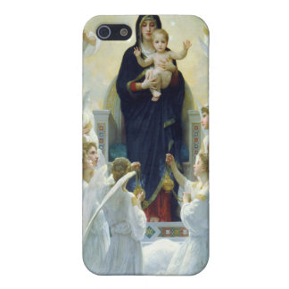 The Virgin With Angels, William Bouguereau Covers For iPhone 5