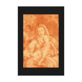 The Virgin with the Child_Studies of the Maste Canvas Print