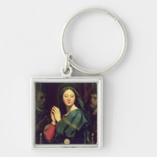 The Virgin with the Host, 1841 Keychain