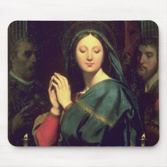 The Virgin with the Host, 1841 Mouse Pad
