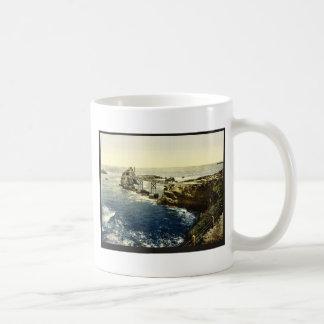 The Virgin's Rock, Biarritz, Pyrenees, France clas Coffee Mug