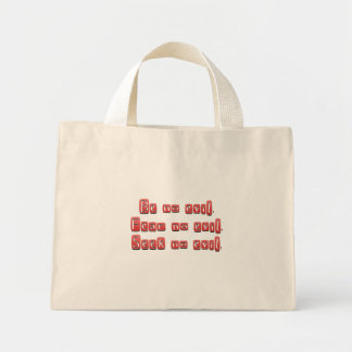 The Virtue of Listening to 3 Wise Monkeys Canvas Bags