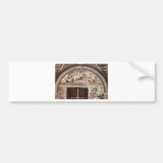 The Virtues by Raphael Bumper Sticker
