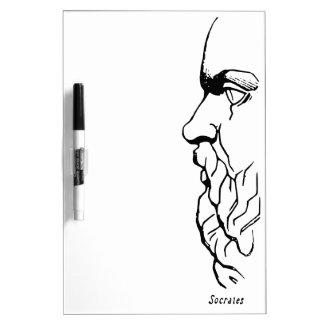 The Visage of Socrates Dry-Erase Board