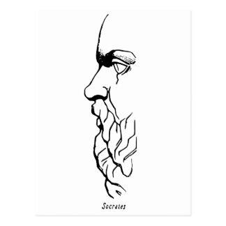 The Visage of Socrates Postcard