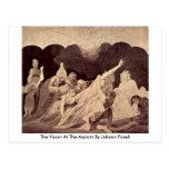 The Vision At The Asylum By Johann Fuseli Postcards