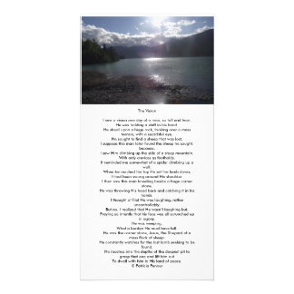 The Vision bookmark. Photo Greeting Card