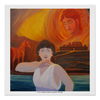 The Vision - Cassandra and Apollo Poster