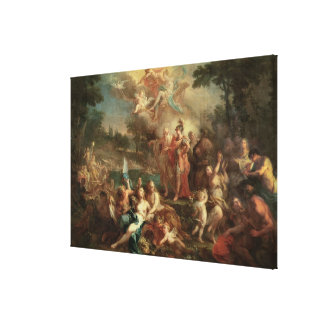 The Vision of Aeneas in the Elysian Fields Canvas Print