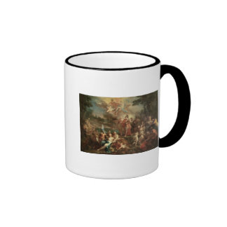 The Vision of Aeneas in the Elysian Fields Ringer Coffee Mug